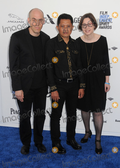 Adi Rukun Photo - 27 February 2016 - Santa Monica California - Joshua Oppenheimer Adi Rukun Signe Byrge Sorensen 31st Annual Film Independent Spirit Awards - Arrivals held at the Santa Monica Pier Photo Credit Byron PurvisAdMedia