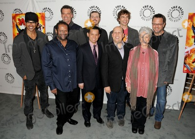 Andrea Romano Photo - 30 January 2014 - Beverly Hills California - Shemar Moore James Tucker Bruce Thomas Jay Oliva Phil Bourassa Heath Corson Christopher Gorham Andrea Romano Steve Blum Justice League War West Coast Premiere held at The Paley Center for Media Photo Credit Byron PurvisAdMedia