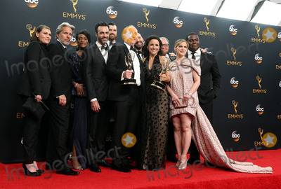 Tony Hale Photo - 18 September 2016 - Los Angeles California - Sarah Sutherland Gary Cole Sufe Bradshaw Reid Scott Matt Walsh Timothy Simons Julia Louis-Dreyfus Tony Hale Kevin Dunn Anna Chlumsky and Sam Richardson winners of Best Comedy Series for Veep 68th Annual Primetime Emmy Awards held at Microsoft Theater Photo Credit AdMedia