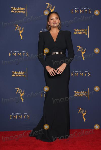 Chrissy Teigen Photo - 09 September 2018-  Los Angeles California - Chrissy Teigen 2018 Creative Arts Emmy Awards_Press Room held at The Microsoft Theater Photo Credit Faye SadouAdMedia