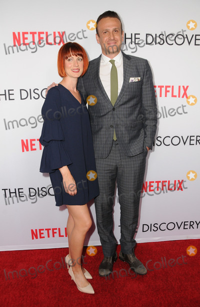 Alexis Mixter Photo - 29 March 2017 - Los Angeles California - Alexis Mixter Jason Segel  Premiere Of Netflixs The Discovery held at The Vista Theater in Los Angeles Photo Credit Birdie ThompsonAdMedia