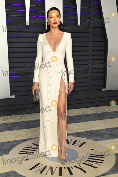 Adriana Lima Photo - 24 February 2019 - Los Angeles California - Adriana Lima 2019 Vanity Fair Oscar Party following the 91st Academy Awards held at the Wallis Annenberg Center for the Performing Arts Photo Credit Birdie ThompsonAdMedia