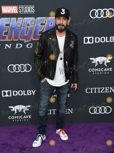 AJ MCLEAN Photo - 22 April 2019 - Los Angeles California - AJ McLean Marvel Studios Avengers Endgame Los Angeles Premiere held at Los Angeles Convention Center Photo Credit Birdie ThompsonAdMedia