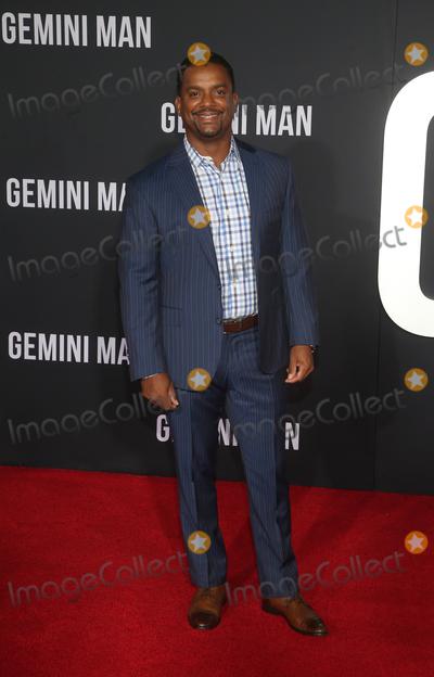Alfonso Ribeiro Photo - 6 October 2019 - Hollywood California - Alfonso Ribeiro Paramount Pictures Premiere Of Gemini Man held at TCL Chinese Theatre Photo Credit FayeSAdMedia