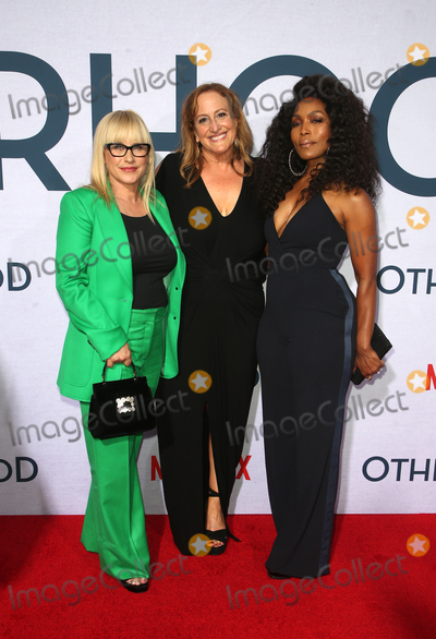 Cindy Chupack Photo - 31 July 2019 - Hollywood California - Patricia Arquette Cindy Chupack Angela Bassett Photo Call For Netflixs Otherhood held at The Egyptian Theatre Photo Credit FSadouAdMedia