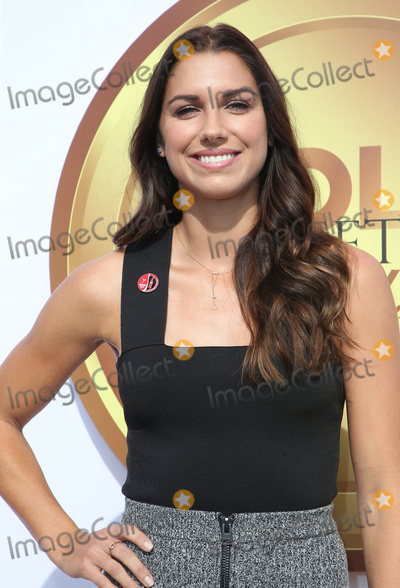 Alex Morgan Photo - 06 January 2018 - West Hollywood California - Alex Morgan 5th Anniversary Gold Meets Golden event held at The House on Sunset 2018 Gold Meet Golden is a Hollywood Send-Off to the athletes competing in the upcoming PyeongChang Winter Games with a special focus on Empowering Women in Hollywood  Sport Photo Credit F SadouAdMedia