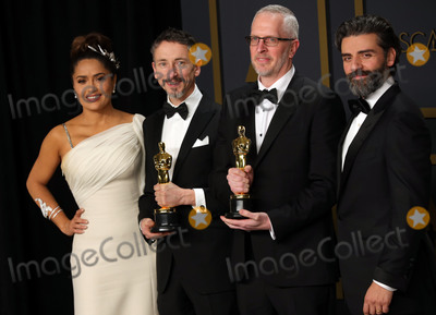 Teairra Mar Photo - 09 February 2020 - Hollywood California - Mark Taylor Stuart Wilson Salma Hayek Oscar Isaac attend the 92nd Annual Academy Awards presented by the Academy of Motion Picture Arts and Sciences held at Hollywood  Highland Center Photo Credit Theresa ShirriffAdMedia