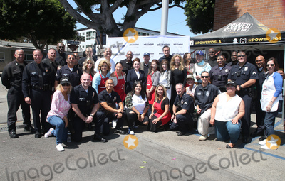 Kate Linder Photo - 06 September 2018-  Hollywood California - Ellen K Anglica Mara Angelica Vale Tai Babilonia Kate Linder Catherine Bach Erin Murphy Mitch OFarrell Deputy Chief Armando Hogan Leron Gubler Guests Ana Martinez Hollywood Chamber Of Commerces 24th Annual Police and Firefighter appreciation Day held at LAPD Hollywood Division Photo Credit Faye SadouAdMedia