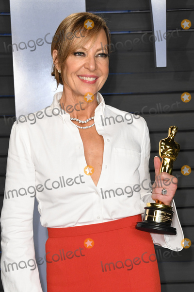 Allison Janney Photo - 04 March 2018 - Los Angeles California - Allison Janney 2018 Vanity Fair Oscar Party following the 90th Academy Awards held at the Wallis Annenberg Center for the Performing Arts Photo Credit Birdie ThompsonAdMedia