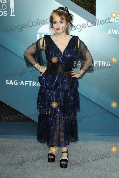 Helena Bonham Photo - 19 January 2020 - Los Angeles California - Helena Bonham Carter 26th Annual Screen Actors Guild Awards held at The Shrine Auditorium Photo Credit AdMedia