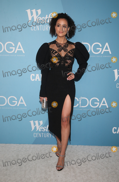 Nathalie Emmanuelle Photo - 28 January 2020 - Beverly Hills California - Nathalie Emmanuel 22nd Costume Designers Guild Awards held at The Beverly Hilton Hotel Photo Credit FSAdMedia