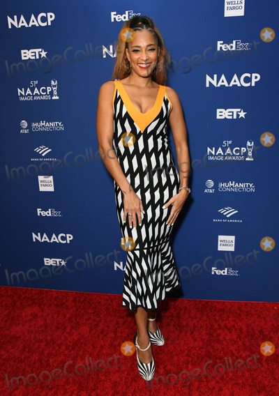 Amanda Seales Photo - 21 February 2020 - Hollywood California - Amanda Seales 51st NAACP Image Awards - Non-Televised Awards Dinner  held at the Ray Dolby Ballroom Photo Credit Birdie ThompsonAdMedia