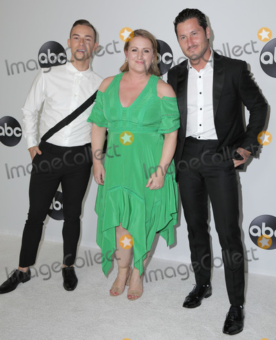 Adam Rippon Photo - 07 August 2018 - Beverly Hills California - Mandy Moore Adam Rippon Valentin Chmerkovskiy ABC TCA Summer Press Tour 2018 held at The Beverly Hilton Hotel Photo Credit PMAAdMedia