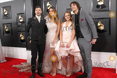 Peter Andr Photo - 26 January 2020 - Los Angeles California - Joel Smallbone Moriah Peters Courtney Smallbone Luke Smallbone 62nd Annual GRAMMY Awards held at Staples Center Photo Credit AdMedia
