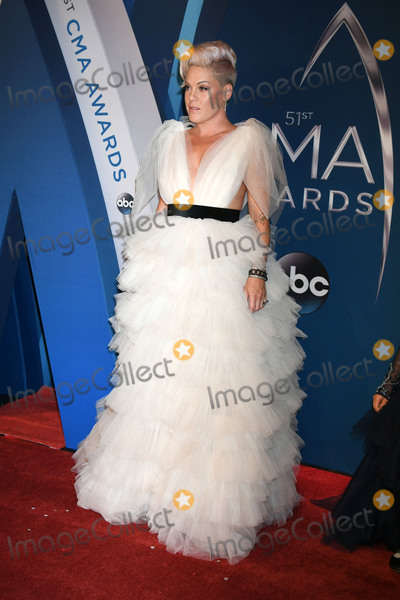 Alecia Moore Photo - 08 November 2017 - Nashville Tennessee - Pink Alecia Moore 51st Annual CMA Awards Country Musics Biggest Night held at Music City Center Photo Credit Laura FarrAdMedia