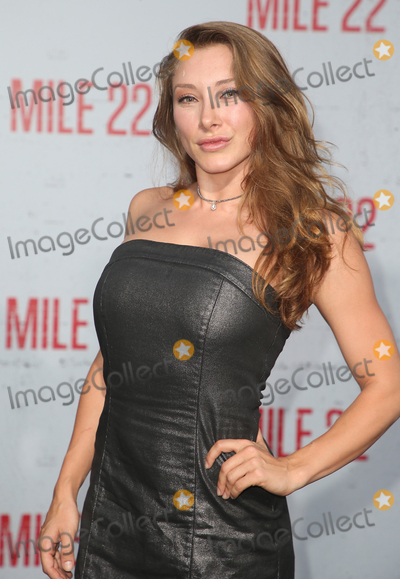 Alexandra Vino Photo - 09 August 2018 - Westwood California - Alexandra Vino Mile 22 Los Angeles Premiere held at The Regency Village Theatre Photo Credit Faye SadouAdMedia