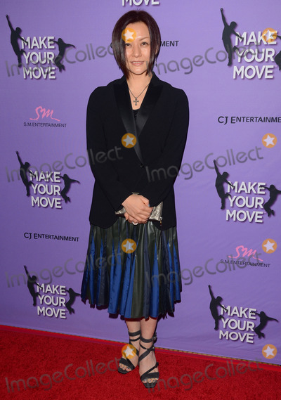 Yasuko Miyamotos Photo - 31 March 2014 - Los Angeles California - Yasuko Miyamotos Cast arrivals for the LA screening of Make Your Move held at Pacifics The Grove Stadium 14 in Los Angeles Photo Credit Birdie ThompsonAdMedia
