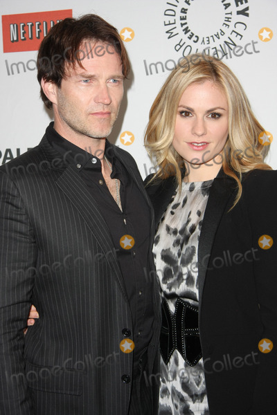 Anna Paquin Photo - 05 March 2011 - Beverly Hills California -  Stephen Moyer Anna Paquin True Blood at PaleyFest 2011  Held at The Saban Theater Photo Tommaso BoddiAdMedia
