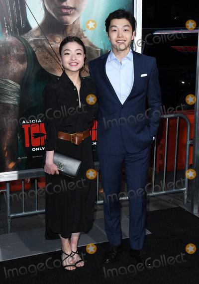 Alex Shibutani Photo - 12 March 2018 - Hollywood California - Maia Shibutani Alex Shibutani Tomb Raider Los Angeles Premiere held at TCL Chinese Theatre Photo Credit Birdie ThompsonAdMedia