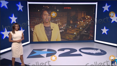 Eva Longoria Photo - In this image from the Democratic National Convention video feed American actress Eva Longoria introduces Mayor Muriel Bowser (Democrat of the District of Columbia) during the first night of the convention on Monday August 17 2020Credit Democratic National Convention via CNPAdMedia