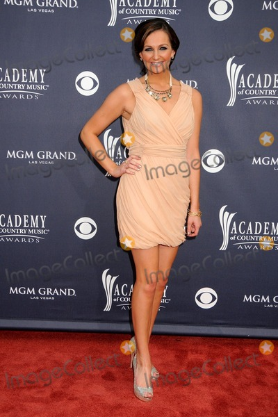 Ashley Gearing Photo - 3 April 2011 - Las Vegas Nevada - Ashley Gearing 46th Annual Academy of Country Music Awards - Arrivals held at the MGM Grand Garden Arena Photo Byron PurvisAdMedia