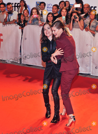 Ellen Page Photo - 15 September 2017 - Toronto Ontario Canada - Kate Mara Ellen Page  2017 Toronto International Film Festival - My Days Of Mercy Premiere held at Roy Thomson Hall Photo Credit Brent PerniacAdMedia