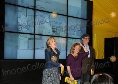 Al Jean Photo - 8 February 2012 - Hollywood California - Yeardley Smith Nancy Cartwright Al Jean The Simpsons 500th Episode Ultimate Fan Challenge held at Hollywood  Highland Photo Credit Byron PurvisAdMedia