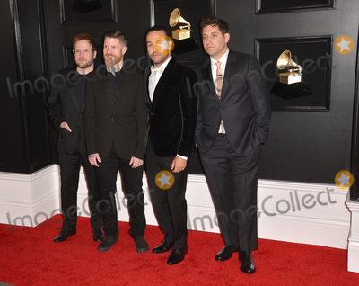 Andy Hurley Photo - 10 February 2019 - Los Angeles California - Joe Trohman Pete Wentz Patrick Stump Andy Hurley Fall Out Boy 61st Annual GRAMMY Awards held at Staples Center Photo Credit AdMedia