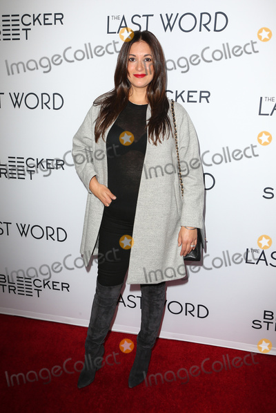 Angelique Cabral Photo - 01 March 2017 - Hollywood California - Angelique Cabral The Last Word Los Angeles Premiere held at ArcLight Hollywood Photo Credit AdMedia