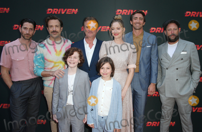 Tyler Crumley Photo - HOLLYWOOD CA - JULY 29 Iddo Goldberg Jason Sudeikis Nick Hamm Judy Greer Lee Pace Brad Feinstein Tyler Crumley Asher Miles Fallica at The Universal Pictures Home Entertainment Content Groups Los Angeles Premiere Of Driven at ArcLight Hollywood in Hollywood California on July 29 2019 Credit Faye SadouMediaPunch