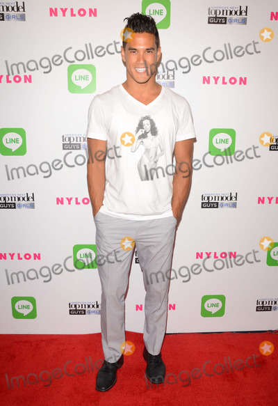 Adam Smith Photo - 20 August 2014 - Hollywood California - Adam Smith Arrivals for Americas Next Top Model Cycle 21 premiere party presented by NYLON and LINE held at Supperclub in Hollywood Ca Photo Credit Birdie ThompsonAdMedia