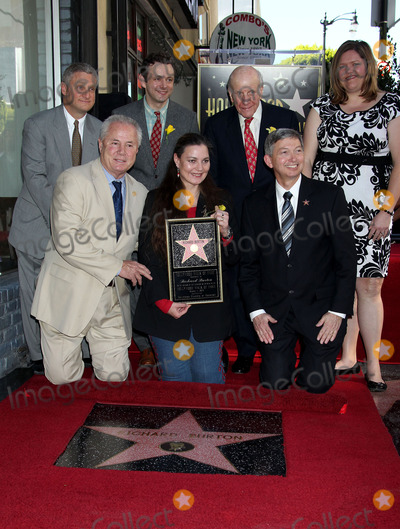 Richard Burton Photo - 01 March 2013 - Hollywood California - Michael Sheen Lord Rowe Beddoe (C) Daughter Maria Burton Richard Burton Honored With Posthumous Star On The Hollywood Walk Of Fame Photo Credit Russ ElliotAdMedia