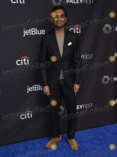 Aziz Ansari Photo - 21 March 2019 - Hollywood California - Aziz Ansari 2019 PaleyFest LA - NBCs Parks and Recreation 10th Anniversary Reunion held at The Dolby Theater Photo Credit Birdie ThompsonAdMedia