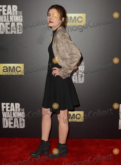 Ally Ioannides Photo - 29 March 2016 - Los Angeles California - Ally Ioannides AMCs Fear The Walking Dead Season 2 Premiere held at Cinemark Playa Vista Photo Credit Birdie ThompsonAdMedia