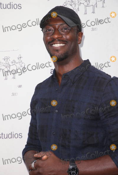 Aldis Hodges Photo - 11 July 2018 - Los Angeles California - Aldis Hodge Dont Worry He Wont Get Far On Foot Los Angeles Premiere held at The Arclight Hollywood Photo Credit F SadouAdMedia