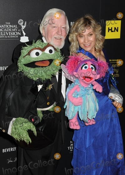 Caroll Spinney Photo - 23 June 2012 - Beverly Hills California - Caroll Spinney Leslie Carrara-Rudolph 39th Annual Daytime Emmy Awards - Arrivals held at the Beverly Hilton Hotel Photo Credit Byron PurvisAdMedia
