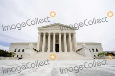 Supremes Photo - The United States Supreme Court is seen in Washington DC US on Sunday April 19 2020  The Supreme Court will be hearing arguments remotely due to the Coronavirus pandemic  Credit Stefani Reynolds  CNPAdMedia