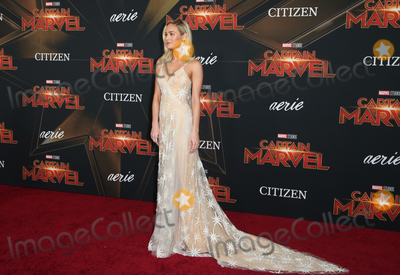 Brie Larson Photo - 4 March 2019 - Hollywood California - Brie Larson Marvel Studios Captain Marvel Premiere held at El Capitan Theatre Photo Credit Faye SadouAdMedia