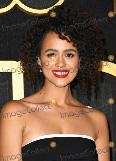 Nathalie  Photo - 17 September 2018 - West Hollywood California - Nathalie Emmanuel  2018 HBO Emmy Party held at the Pacific Design Center Photo Credit Birdie ThompsonAdMedia