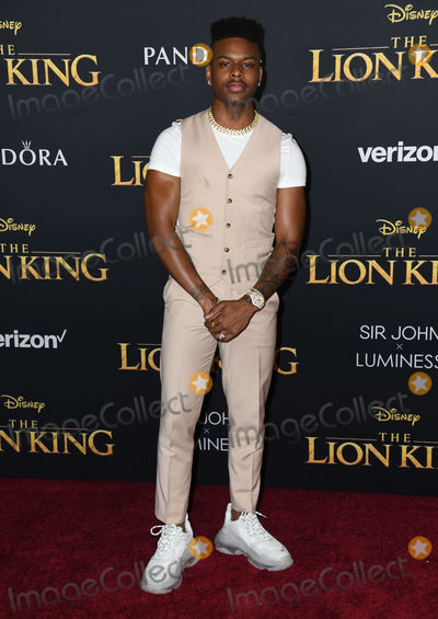 Aubrey Joseph Photo - 09 July 2019 - Hollywood California - Aubrey Joseph Disneys The Lion King Los Angeles Premiere held at Dolby Theatre Photo Credit Birdie ThompsonAdMedia