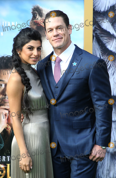Shay Photo - 11 January 2020 - Westwood California - John Cena Shay Shariatzadeh the premiere of Universal Pictures Dolittle held at the Regency Village Theatre Photo Credit FSAdMedia