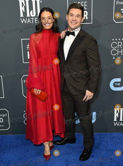 Adam DeVine Photo - 12 January 2020 - Santa Monica California - Chloe Bridges Adam Devine 25th Annual Criticis Choice Awards - Arrivals held at Barker Hangar Photo Credit Birdie ThompsonAdMedia