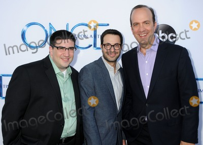 Adam Horowitz Photo - 21 September 2014 - Hollywood California - Adam Horowitz Edward Kitsis Ben Sherwood Once Upon A Time Los Angeles Season Premiere held at the El Capitan Theatre Photo Credit Byron PurvisAdMedia