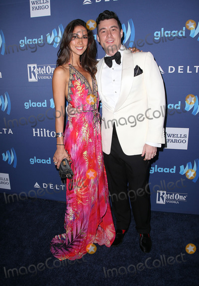 Anthony Watson Photo - 21 March 2015 - Beverly Hills California - Leilani Dowding Anthony Watson 26th Annual GLAAD Media Awards held at The Beverly Hilton Hotel Photo Credit F SadouAdMedia