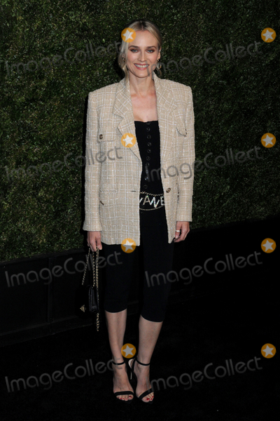 Diane Kruger Photo - Diane Kruger at the CHANEL Tribeca Film Festival Artists Dinner at Balthazar in Soho in New York New York USA 29 April 2019