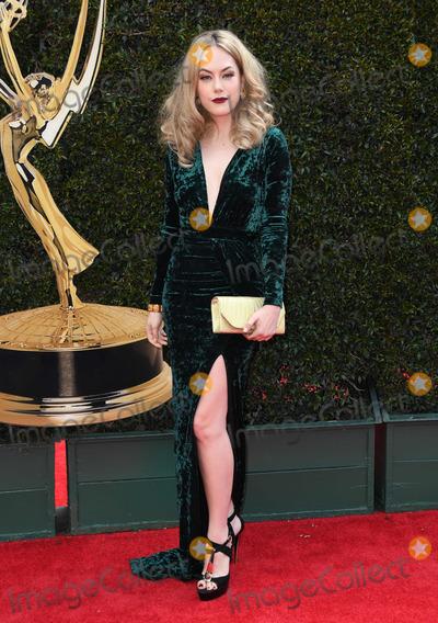 Annika Noelle Photo - 29 April 2018 -Pasadena California - Annika Noelle 45th Annual Daytime Emmy Awards held at Pasadena Civic Center Photo Credit Birdie ThompsonAdMedia