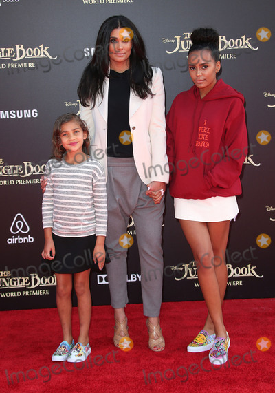Ava Dash Photo - 04 April 2016 - Hollywood California - Tallulah Ruth Dash Rachel Roy Ava Dash The Jungle Book Los Angeles Premiere held at the El Capitan Theatre Photo Credit SammiAdMedia