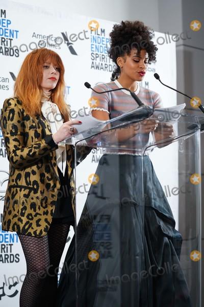 Natasha Lyonne Photo - 21 November 2019 - Los Angeles California - Natasha Lyonne Zazie Beets 2019 Film Independent Spirit Awards Nominations held at The Line LA Photo Credit Birdie ThompsonAdMedia