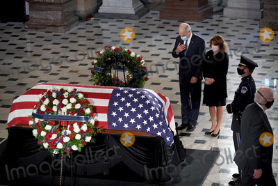 Bob Casey Photo - United States Senator Bob Casey Jr (Democrat of Pennsylvania) and Terese Foppiano Casey pay their respects as the late Justice Ruth Bader Ginsburg lies in state at National Statuary Hall in the US Capitol on Friday September 25 2020 Ginsburg died at the age of 87 on Sept 18th and is the first women to lie in state at the CapitolCredit Greg Nash  Pool via CNPAdMedia