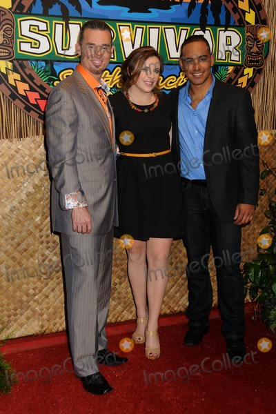 Albert Destrade Photo - 18 December 2011 - Los Angeles California - Benjamin Wade Coach Sophie Clarke and Albert Destrade Survivor South Pacific Finale  Reunion held at CBS Television City Photo Credit Byron PurvisAdMedia